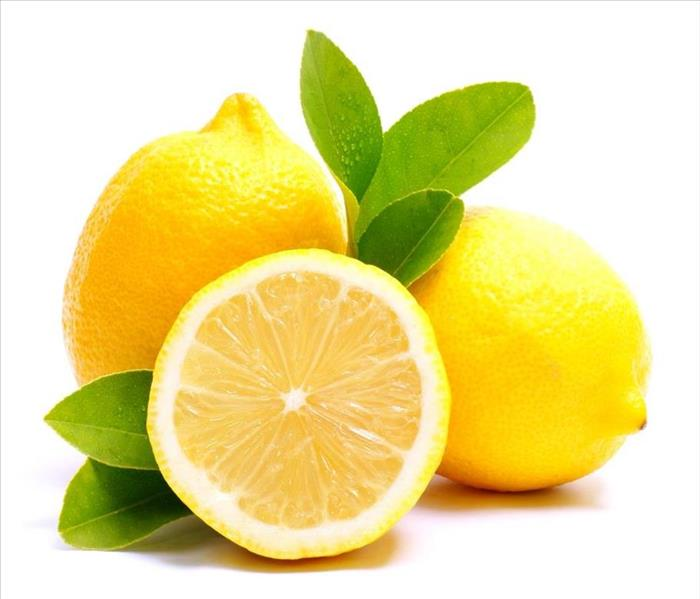 Cleaning Using Lemon to Clean